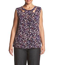 Nine West® Plus Size Floral Print Cami