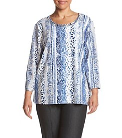 Alfred Dunner® Plus Size Sierra Madre Printed Knit Top