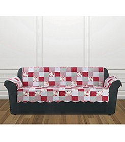 Sure Fit® Heirloom Cottage Patchwork Chair Furniture Cover