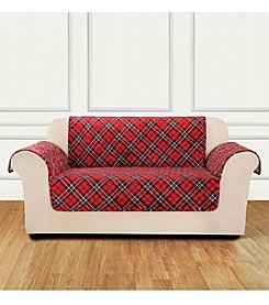 Sure Fit® Furniture Flair Tartan Plaid Chair Cover