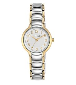Anne Klein® Two-Tone Easy Reader Dial Watch