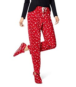 HUE® Fleece Pajama Pants