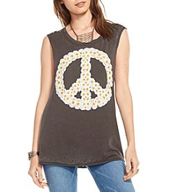 Chaser® Daisy Peace Wreath Graphic Tee