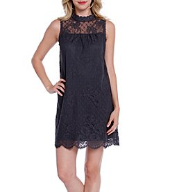 Skylar & Jade™ Mixed Media Lace Swing Dress