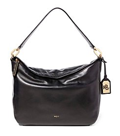 Lauren Ralph Lauren® Medium Callen Leather Hobo Bag