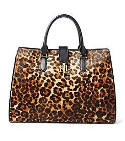 Lauren Ralph Lauren® Carrington Leopard Tote