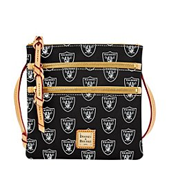 Dooney & Bourke® NFL® Oakland Raiders Triple Zip Crossbody