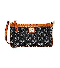 Dooney & Bourke® NFL® Oakland Raiders Large Slim Wristlet