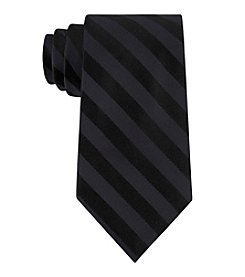 Calvin Klein Satin Graphite Bar Tie
