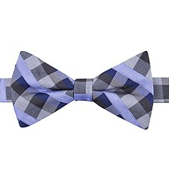 John Bartlett Statements Small Plaid Bow Tie