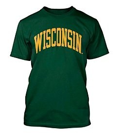 Green and Gold Wisconsin Short Sleeve Tee