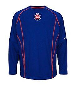 Majestic MLB® Chicago Cubs Men's Practice Crewneck Pullover