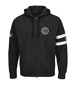 Majestic MLB® Chicago Cubs Men's Clubhouse Fleece Full Zip Hoodie