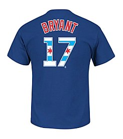 Majestic MLB® Chicago Cubs Men's Bryant 17 Chicago Flag Short Sleeve Tee