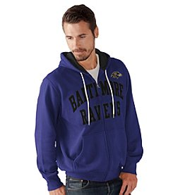 G-III NFL® Baltimore Ravens Men's Pass Attempt Full Zip Hoodie