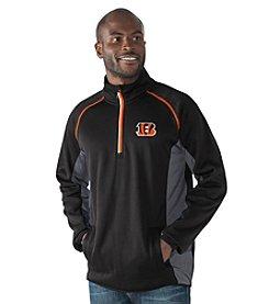 G-III NFL® Cincinnati Bengals Men's Flexibility 1/2 Zip Pullover