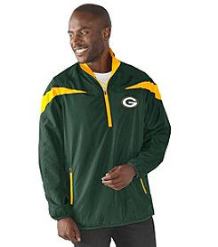 G-III NFL® Green Bay Packers Men's Tailback 1/2 Zip Pullover