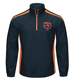 G III NFL® Chicago Bears Men's Hail Mary 1/2 Zip Pullover