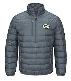 G-III NFL® Green Bay Packers Men's 1/2 Zip Tri Offense Jacket