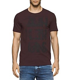 Calvin Klein Jeans® Men's Short Sleeve Overlap Graphic Tee