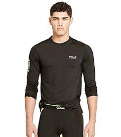 Polo Sport® Men's Mesh-Panel Compression Shirt