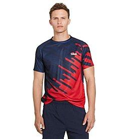Polo Sport® Men's Micro-Dot Crew Neck Jersey Tee