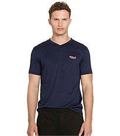Polo Sport® Men's Micro-Dot Jersey V-Neck Tee