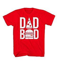 Mad Engine Men's Big & Tall Short Sleeve Dad Bod Snacks Tee