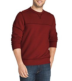 G. H. Bass & Co. Men's Sueded Crew Neck Fleece