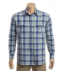 Tommy Bahama® Men's Long Sleeve Button Down Maduro Plaid Shirt