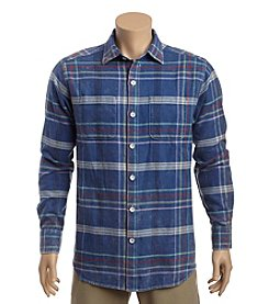 Tommy Bahama® Men's Sun & Sea Flannel Button Down Shirt