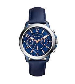 Fossil® Gwynn Chronograph Leather Watch