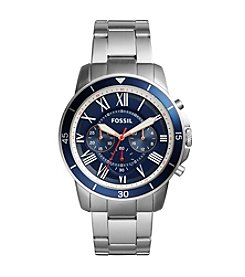 Fossil® Grant Sport Chronograph Stainless Steel Watch