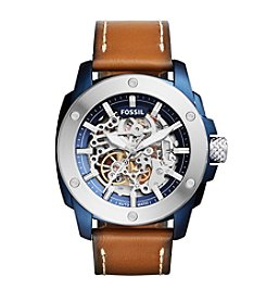 Fossil® Men's Modern Machine Sport Automatic Leather Watch
