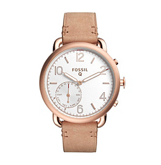 Fossil® Q Tailor Leather Hybrid Smartwatch