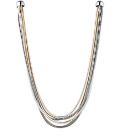 Nine West® Multi Chain Frontal Necklace