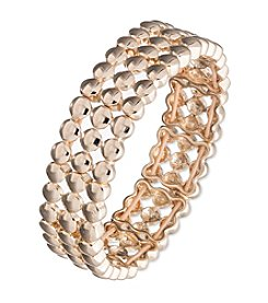 Nine West® Three Row Stretch Bracelet