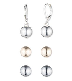 Nine West® Trio Set Earrings