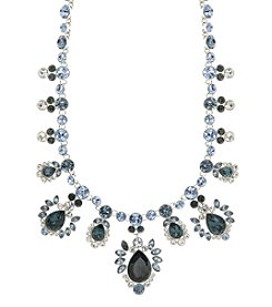 Givenchy® Blue Stone Drama Collar Necklace