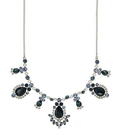 Givenchy® Blue Stone Frontal Necklace