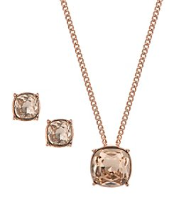 Givenchy® Pendant and Stud Earrings Set