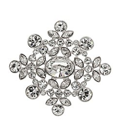 Givenchy® Cubic Zirconia Cluster Pin