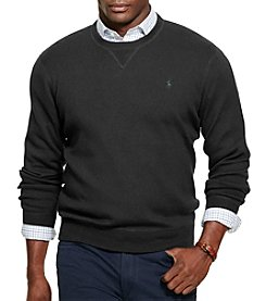 Polo Ralph Lauren® Men's Big & Tall Cotton Crew Neck Sweater