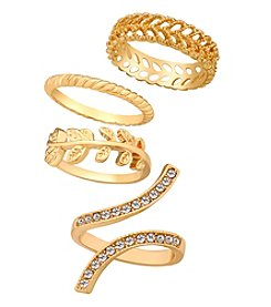 GUESS Stackable Ring Set