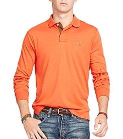 Polo Ralph Lauren® Men's Long-Sleeve Pima Soft-Touch Polo Shirt
