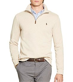 Polo Ralph Lauren® Men's Long Sleeve Knit Fleece