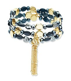 Nine West Vintage America Collection® Beaded Stretch Bracelet
