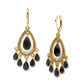 Nine West Vintage America Collection Shaky Orbital Drop Earrings plus size,  plus size fashion plus size appare