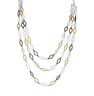 Nine West Vintage America Collection® Multi Row Frontal Necklace