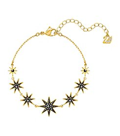 Swarovski® Black and Gold Firework Bracelet